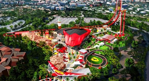 Así será Ferrariland