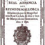 Decret Nova Planta Regne de Mallorca