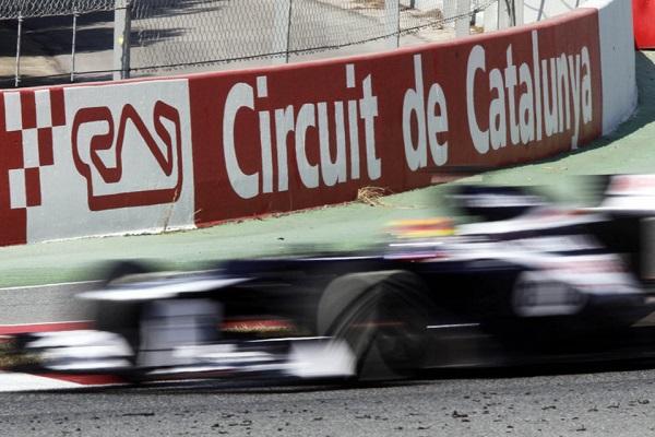 Aparcar en la Fórmula 1 de Montmeló