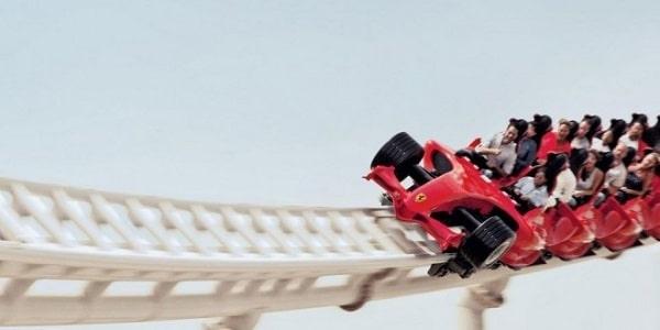 Mejores atracciones de Ferrari Land PortAventura