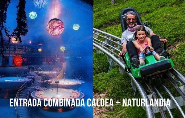 Entrada combinada Caldea + Naturlandia