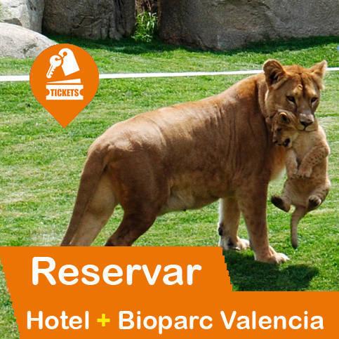 Hotel + Entradas Bioparc València