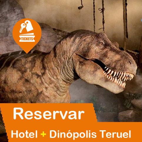 Hotel + Entradas Dinópolis Teruel