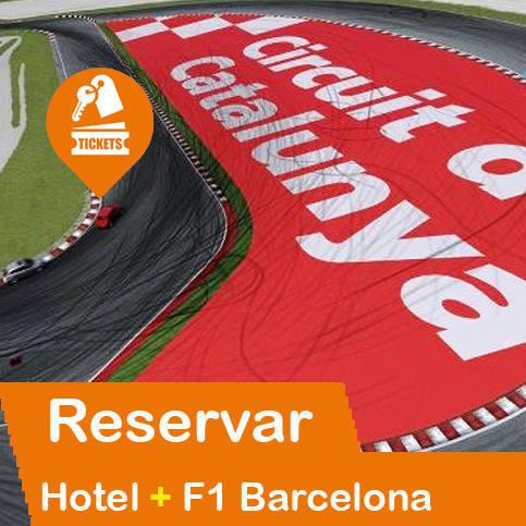 Hotel + Entradas Formula 1 Montmeló - Barcelona