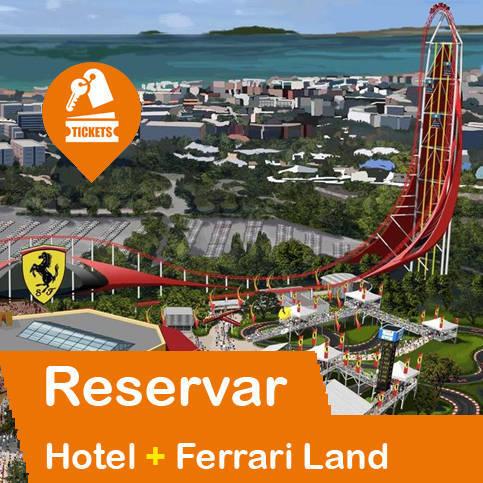 Hotel + Entradas Ferrariland Salou