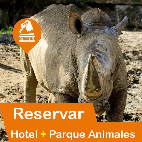 Hotel + Entradas Parques Animales