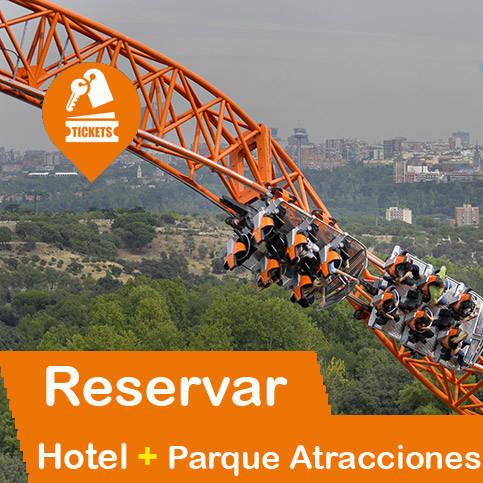 Hotel + Parque Atracciones Madrid