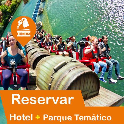 Hotel + Entradas Parques Temáticos