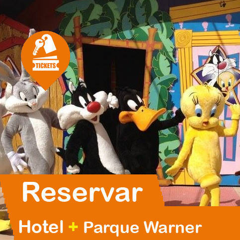 Hotel + Entradas Parque Warner Madrid