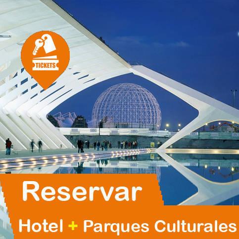 Hotel + Entradas Parques Culturales