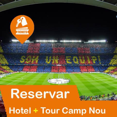 Hotel + Entrada Tour Futbol Club Barcelona
