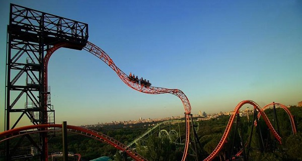 Mejores atracciones Parque Atracciones Madrid